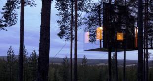 Гостиницы в НЛО, птичьем гнезде и стеклянном кубике