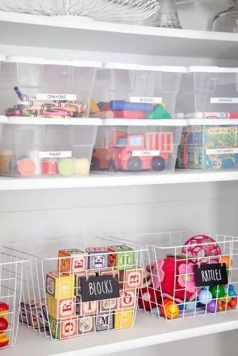 Куда убрать детские игрушки идеи фото
