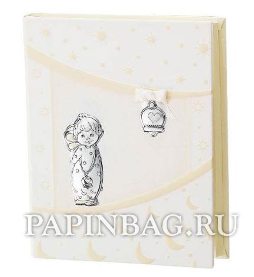 Купить фотоальбом для новорожденных подарочный