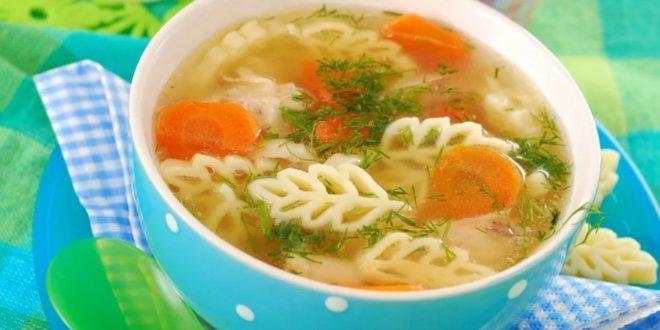 Значение супов в меню малыша