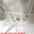 Коллекционные мишки Bride and Bridegroom, 37 см, Limited Edition, SWAROVSKI Elements - фото 4
