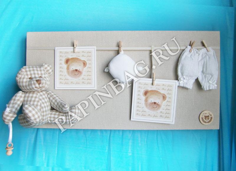 Панно на рождение ребенка своими руками 67