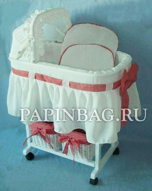 Кроватка из коляски своими руками